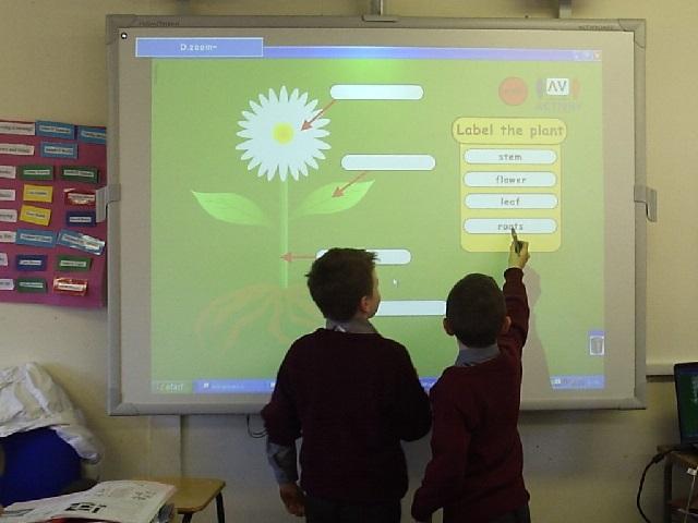 Обучение при помощи интерактивной доски
